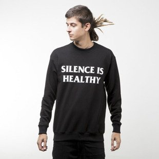 Intruz sweatshirt Silence crewneck black