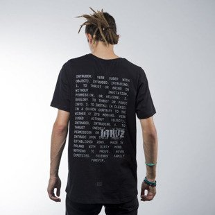 Intruz t-shirt  Definition black