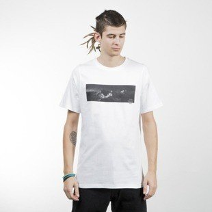 Intruz t-shirt Distortion Tee white