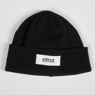 Intruz winter beanie Logo black