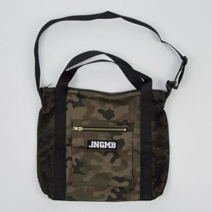 Jungmob Moro Dark Bag camo / black