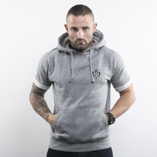 K1X Authentic Cropped Hoody grey heather (1153-2151/8801)