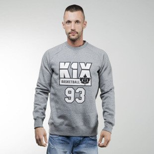 K1X Barcelona Crewneck grey heather