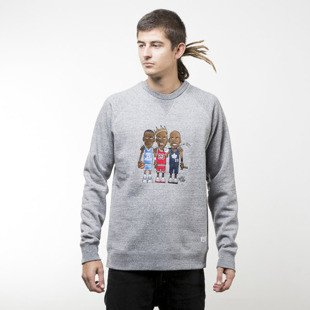 K1X Greatest Crewneck grey heather / multi color 1163-2000/8921