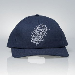 KOKA strapback  6-Panel Cap Mobile navy
