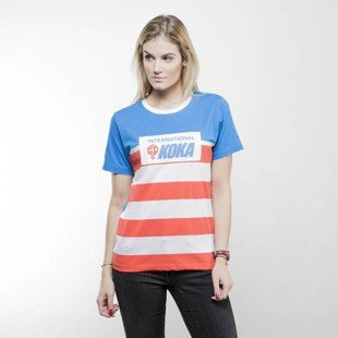 Koka Bedford Av Girls Ts blue / white / red