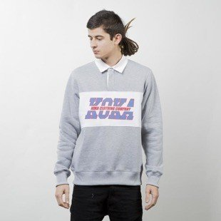 Koka Crewneck Polo Yard heather grey