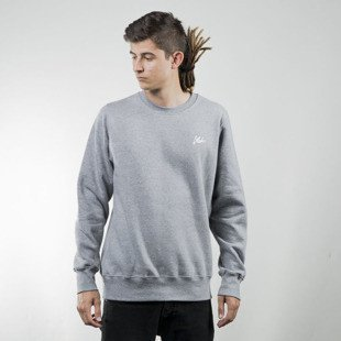 Koka sweatshirt Snadglass Tag crewneck heather grey