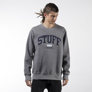 Koka sweatshirt Vintage Stuff crewneck heather grey