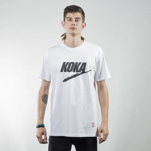Koka t-shirt Fake white