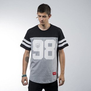 Koka t-shirt Hall black / heather grey
