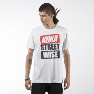 Koka t-shirt Wise white