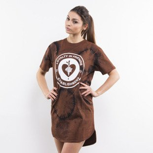Life/Stab t-shirt Emblem brown WMNS