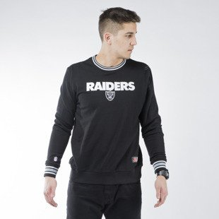 Majestic Athletic Birchen Cross Over Crew Oakland Raiders black (MOR1438DB)