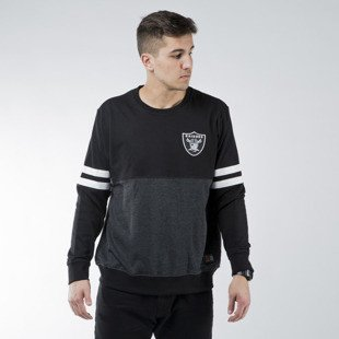 Majestic Athletic Chemin Crew Sweat Oaklam Raiders black (MOR1436DB)