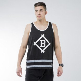 Majestic Athletic Eldridge Jersey Vest  Brooklyn Dodgers black (MBK1457DB)