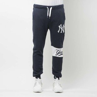 Majestic Athletic Majestic Athletic Tilter Fashion Wrap Font Jogger navy leather MNY2372NL