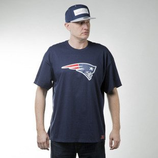 Majestic Athletic Prism Large Logo Tee New England Patriots blue (MNP1450NJ)