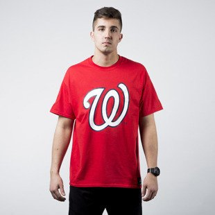 Majestic T-shirt Prism Large Logo Tee Washington Nationels red (MWN1450RP)