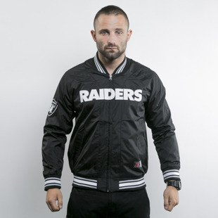 Majestic jacket Oakland Raiders black Ambrose Satin (A6ORA6504BLK001)
