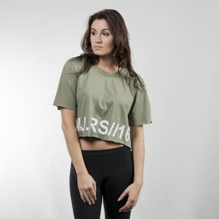 Majors Crop Top olive