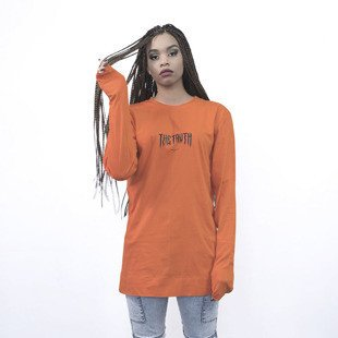 Majors longsleeve The Thruth Girl ogange
