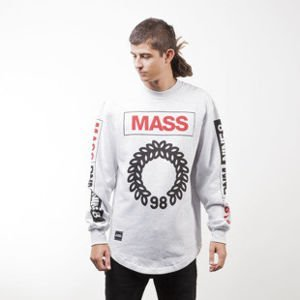 Mass Denim BLAKK sweatshirt Conversion Long crewneck extra light heather grey