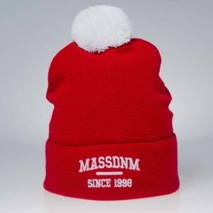 Mass Denim Campus Beanie red