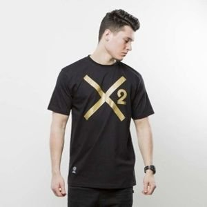 Mass Denim Mass T-Shirt Gold X black DWA SŁAWY