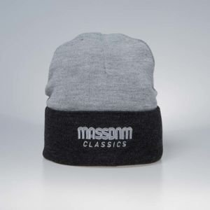 Mass Denim Section Beanie heather grey
