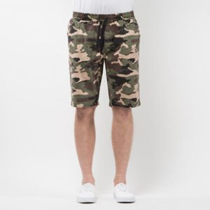 Mass Denim Shorts Chino Classics straight fit woodland camo SS 2017