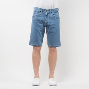 Mass Denim Shorts Jeans Flip straight fit light blue SS 2017