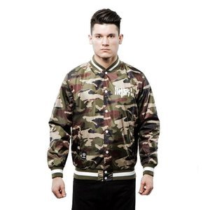 Mass Denim Signature Handmade Jacket woodland camo