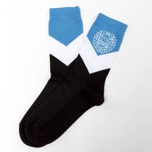 Mass Denim Socks Fang blue / black
