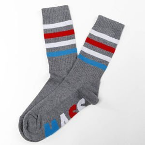 Mass Denim Socks Grand heather grey