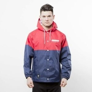 Mass Denim Sprint Jacket red / navy