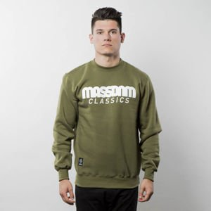 Mass Denim Sweatshirt Crewneck Classics khaki