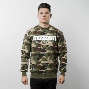 Mass Denim Sweatshirt Crewneck Classics woodland camo