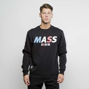 Mass Denim Sweatshirt Crewneck Grand black