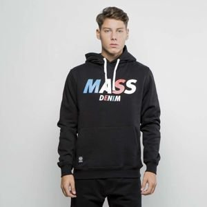 Mass Denim Sweatshirt Hoody Grand black