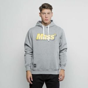 Mass Denim Sweatshirt Hoody Work light heather grey