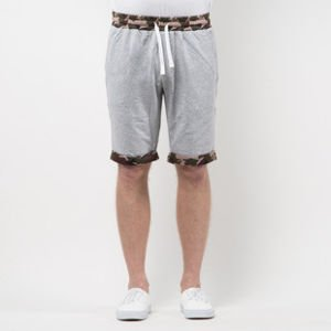 Mass Denim Sweatshorts Patrol light heather grey SS 2017