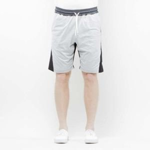 Mass Denim Sweatshorts Sprint black / light heather grey SS 2017