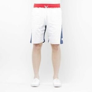 Mass Denim Sweatshorts Sprint white / navy SS 2017