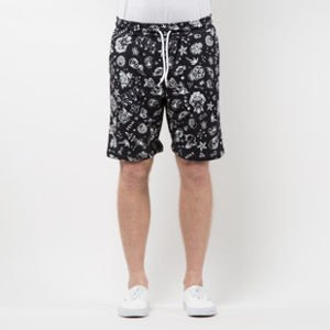 Mass Denim Sweatshorts Tattoo black SS 2017
