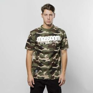 Mass Denim T-shirt Classics woodland camo