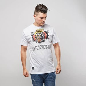 Mass Denim T-shirt Conor - white