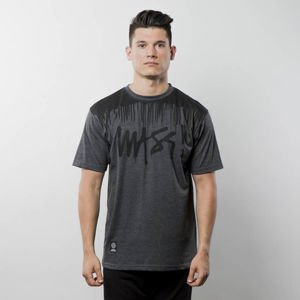 Mass Denim T-shirt Drip Top dark heather grey