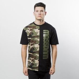 Mass Denim T-shirt Half Camo black