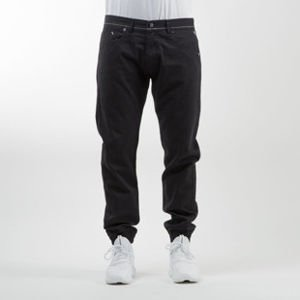 Mass Denim jogger pants Signature sneaker fit black
